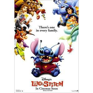 ディズニー リロ&スティッチポストカード【Lilo&Stitch】フレンド 通販  プレゼント