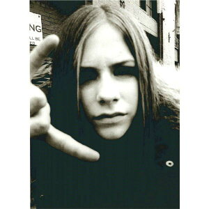 アヴリル・ラヴィーン【Avril Ramona Lavigne】ポストカード 通販  プレゼント