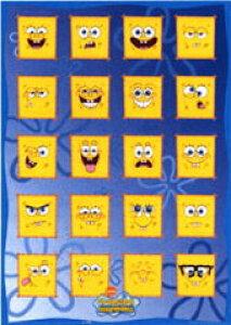 スポンジボブキャラクターポスター《SPONGE BOB》メニーフェイス 通販 楽天 販売  プレゼント