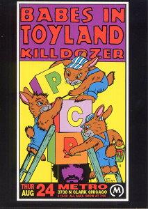 ポストカード 【Babies in Toyland Chicago 1995】 通販  プレゼント