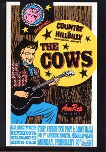 ポストカード 【Cows Minneapolis 1995】 通販  プレゼント