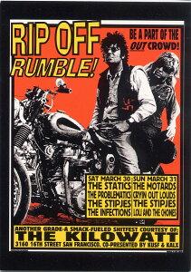 ポストカード 【Rip Off Rumble San Francisco 1996】 通販  プレゼント