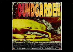 ポストカード 【Soundgarden Seattle 1996】 通販  プレゼント