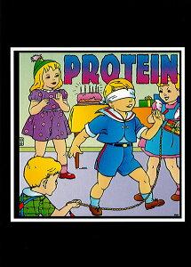 ポストカード 【Protein】 通販  プレゼント