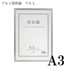 【受発注商品】セキセイ SERIO A3 アルミ賞状額 アルミ A3 [SRO-1328]: