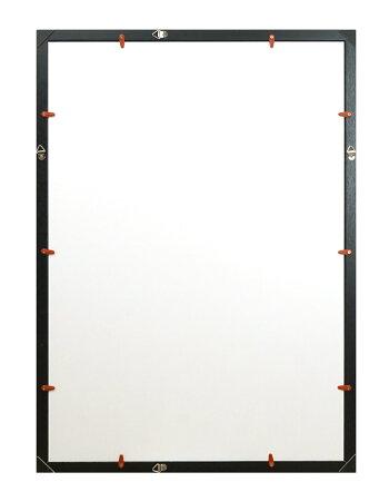 送料無料木製Vポスター額A1ナチュラル/ブラウン万丈【同梱不可】ポスターフレーム額縁額装壁掛け