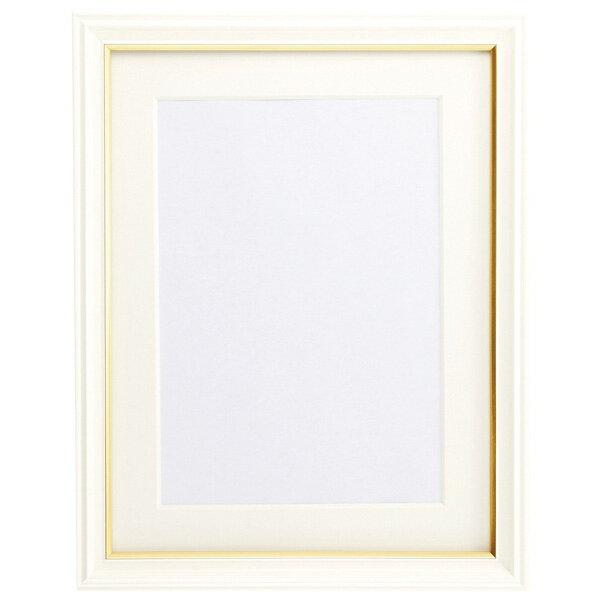 フジカラー 肖像 額縁 キャビネ(2L) パールホワイト