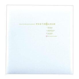 貼り付けアルバム 白フリー台紙20枚(40ページ) ナカバヤシ/フエルアルバム/Lサイズ フォトレンジ ホワイト20L-92-W