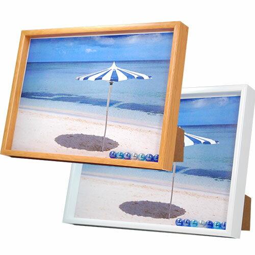 万丈 A4立体額縁 写真立て 壁掛けフォトフレーム ボックスフレーム A4