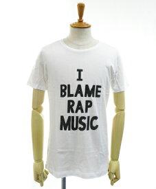 BLACK SCORE(ブラックスコア) プリントTee [10361103] [BSMC_RAP_MUSIC_S16] ホワイト(05)