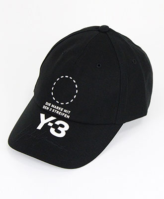 Y-3(ワイスリー) ストリートキャップ STREET CAP [DT0887] BLACK