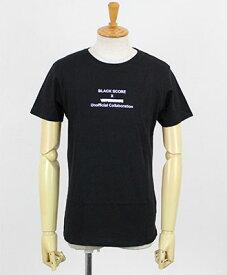 BLACK SCORE / ブラックスコア / プリントTee / UNOFFICIAL COLLAB VET / 10382004 / BSMC_UNOFFICIAL COLLAB VET / ブラック(04)
