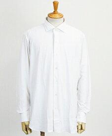 ORIAN(オリアン) ナイロン イージーケア シャツ [JT73-02UT03] WHITE(10)