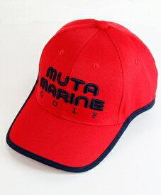 muta MARINE GOLF / ムータマリンゴルフ / MMG イヤーカーブキャップ / レッド