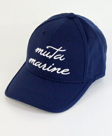 muta MARINE / ムータマリン / イヤーカーブキャップ / ネイビー