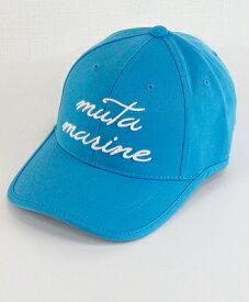 muta MARINE / ムータマリン / イヤーカーブキャップ / ブルー