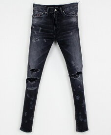 RESOUND CLOTHING / リサウンドクロージング / RC11 LOAD DENIM / BLACK B [RC11-SSK-004]