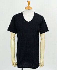 RESOUND CLOTHING / リサウンドクロージング / U LONG length TEE / BLACK【RC12-T-002】