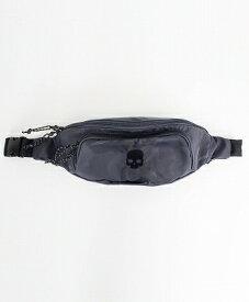 HYDROGEN(ハイドロゲン) スカルパッチ ナイロンボディバッグ / SKULL PATCH BODY BAG [482-10080012] グレー(145)