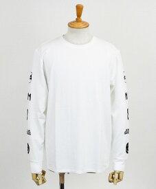 muta MARINE / ムータマリン / レディース・メンズ / ポンチロングスリーブTシャツ / ホワイト