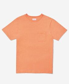 Saturdays NYC / サタデーズ ニューヨークシティ / クルーネックポケットTシャツ / Randall Pima Short Sleeve T‑Shirt / Peach