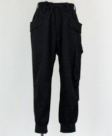 Y-3(ワイスリー) カーゴパンツ M WOOL FLANNEL CARGO PANTS [GK4592-APPS20] BLACK