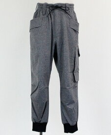 Y-3(ワイスリー) カーゴパンツ M WOOL FLANNEL CARGO PANTS [GK4591-APPS20] GRAY