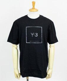 Y-3(ワイスリー) スクエアラベル グラフィック S/S Tシャツ M 3 STP SS TEE [GV6060-APPS21] BLACK