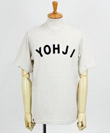 Y-3(ワイスリー) ロゴ S/S Tシャツ U YOHJI LETTERS SS TEE [FJ0328-APPA19] ECRU/LEGEND INK