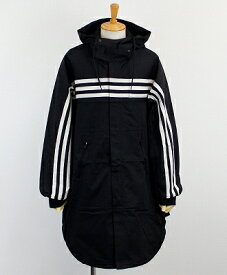 Y-3(ワイスリー) フーデッドシャツコート M 3STP GABARDINE HOODED SHIRT [FJ0473-APPA19] BLACK