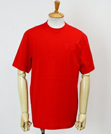 Y-3(ワイスリー) ロゴ S/S Tシャツ M CLASSIC CHEST LOGO SS TEE [FN3360-APPS20] ADI RED