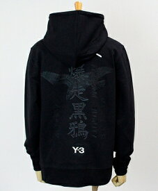 Y-3(ワイスリー) ロゴ パーカー U CRFT GRAPHIC HOODIE [GD5030-APPS20] BLACK/SILVER