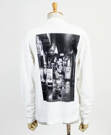 Y-3(ワイスリー) グラフィック L/S Tシャツ M ALLEWAY GRAPHIC LS TEE [FP8694-APPS20] WHITE