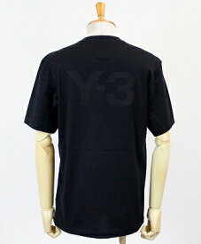 Y-3(ワイスリー) ロゴ S/S Tシャツ M CLASSIC BACK LOGO SS TEE [FN3348-APPS20] BLACK