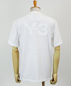 Y-3(ワイスリー) ロゴ S/S Tシャツ M CLASSIC BACK LOGO SS TEE [FN3349-APPS20] CORE WHITE