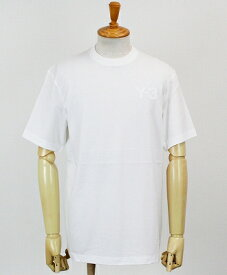 Y-3(ワイスリー) ロゴ S/S Tシャツ M CLASSIC CHEST LOGO SS TEE [FN3359-APPS20] CORE WHITE