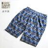 일본 제 화 무늬 ステテコ 쇼트 길이 남성 염색은 마치 백 포켓과 すててこ 천 주 목화 100% 하프 팬츠