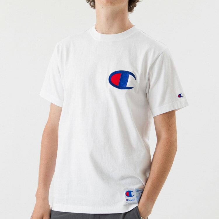 (チャンピオン)Champion Tシャツ/メンズ/C3-F362/アクションスタイル/半袖/ビッグロゴ