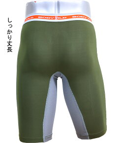 BODYWILD(ボディワイルド)ロングボクサー/春夏/メッシュ/前とじ/メンズ/吸汗速乾/ブランド/グンゼ/日本製/パンツ