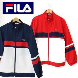 2016春夏新作 送料無料 FILA(フィラ)切り替えウィンドジャケット(ミニクロス素材)(FILA3720)撥水加工