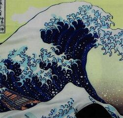 和極(ワゴミ)成型ボクサーパンツ前とじ(和柄)神奈川沖浪裏90A柄