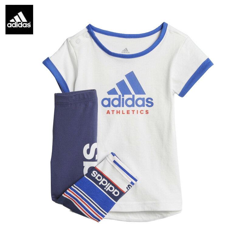 adidas アディダスI Mini-Me SPORT/キッズ/ベビー/Tシャツ上下セット/ENB99/アディダスセットアップ
