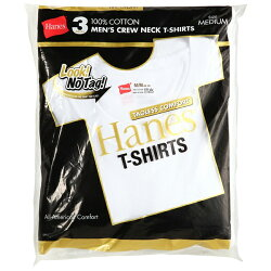 (ヘインズ)hanesゴールドパック3P−パッククルーネックTシャツ