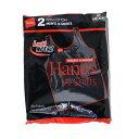 送料無料 2枚組み Hanes ヘインズ 赤ラベルのタンクトップ 綿100% Aシャツ コットン メンズ テレコ タンクトップ(HM2-K701)リブタンク タンクトップ メンズ ヘインズ 2枚セット hanes