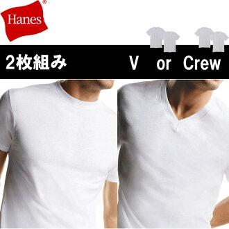 100% Cotton milling short sleeve V Neck T shirt, mens inner shirt