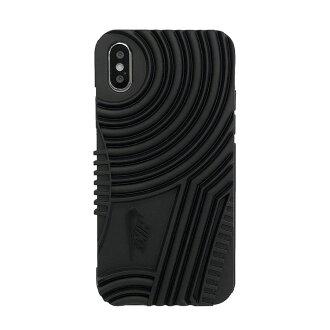 耐克 (Nike) 空军一个 iPhone 智能手机案例黑 DG0018-001-F 空气 FORCE1 手机外壳 iphone6 案例 iPhone 盖 (黑色) (红色) 耐克 iPhone 案例