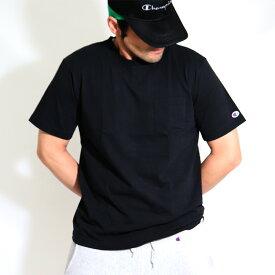送料無料 チャンピオン ポケット付き tシャツ/Champion/C3−M349/ポケt/春夏/チャンピオン