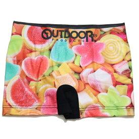 outdoor ボクサーパンツ シュガー キャンディー スイーツ 成型ストレッチ まえとじ OUTDOOR アウトドアボクサーパンツ