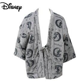 ミッキーマウス フリース 半天 あったか パジャマ はんてん メンズ ディズニー