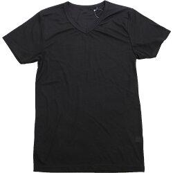 半袖Vネックシャツ/東レ/ソフトサーモ/秋冬/メンズ/暖か/吸湿発熱
